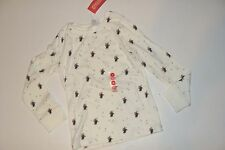 Gymboree Holiday Penguin Chalet Girls Size 3 White Penguin Shirt Top NWT