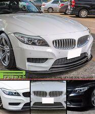 3D Style Front Bumper Lip Carbon Fiber For BMW E89 Z4 2Dr M-Sport 2009-2016