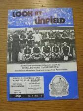Northern Ireland FA Cup Home Teams L-N Football Programmes