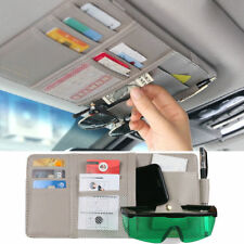 Car Sun Visor Tidy Organizer Pocket Sunglass Card Pen Holder Storage 30cm x14cm