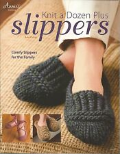 Knit a Dozen Plus Slippers Knitting Instruction Patterns Amy Polcyn Annie's NEW