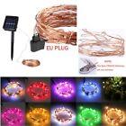 1-20M LED Lichterkette Kette Batterien/Solar/Stecker Licht Leuchte Außen Innen