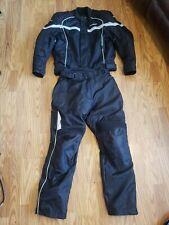 TourMaster Jett Motorcycle Jacket coat Lrg 44 w Venture Lrg 34 36 pants armoured