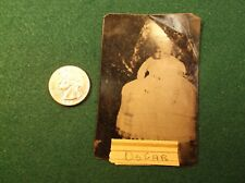 "VERY RARE ANTIQUE 19th CENTURY ""POST MORTEM 'BABY OSCAR'"" TINTYPE PHOTOGRAPH"