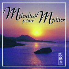 MÉLODIES POUR MÉDITER - RÉSONANCES - CD 18 TRACKS - 1999 - NEUF NEW NEU