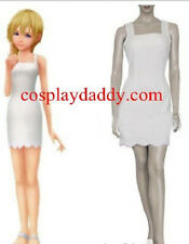 Kingdom Hearts 2 Namine Cosplay Costume Japanese Anime Outfit