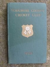 Yorkshire County Cricket Club Yearbook.  1928.