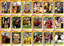 Liverpool FC 2001 FA Cup winners football trading cards