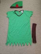 Lost Boy/Robin Hood/Peter Pan, boys costume, size 5-7yrs, (Wicked Costumes)