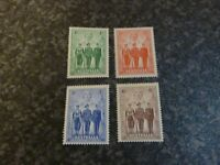 AUSTRALIA POSTAGE STAMPS SG196-199 LIGHTLY MOUNTED MINT