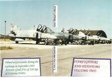 F104 Starfighter and F4 Phantoms Vol 2. Greek 339 Sqn Exchange Sept 2003. DVD.