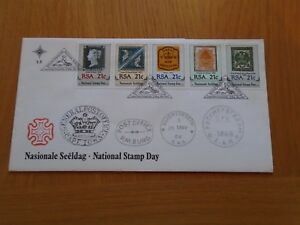 SOUTH AFRICAN FIRST DAY COVER FROM 1990 NATIONAL STAMP DAY