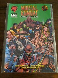 Mortal Kombat BLOOD & THUNDER #6 Dectember 1994 Malibu Comics