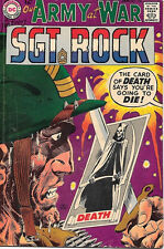 Our Army At War Comic Book #188, DC Comics 1968 FINE-
