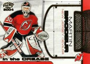 2003 04 Pacific In The Crease Martin Brodeur #7 New Jersey Devils MT
