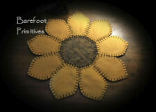 Sunflower Penny Rug spring summer Paper Patten
