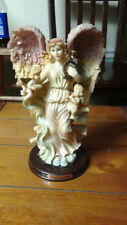 Biltmore Collection Angel with Harp and 2 Baby Angels with Instruments
