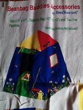 1fabric piece beanbag buddies accessories panel multi color