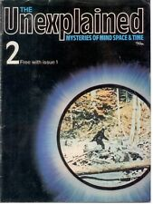 The Unexplained Magazine, numbers 2, 4, 5, 9 Job Lot