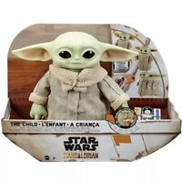 The Child Real Moves Plush Baby Yoda Mattel Star Wars The Mandalorian RC In Hand