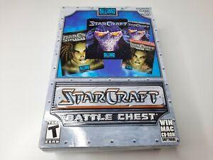 StarCraft Battle Chest (PC Medium / Small Box  ) Brand New Factory Sealed Nice!!