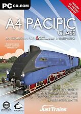 A4 Pacific clase: complemento para simulador ferroviario, Railworks & Railworks 2 (pc) Nuevo