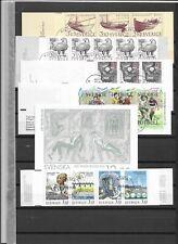 1988 USED Sweden booklets