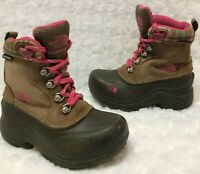 The North Face Girls Chilkat Insulated Waterproof Winter Hiking Boots (Size 10)