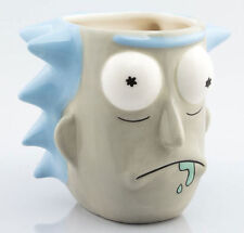 Rick and Morty - Rick Sanchez 3D - Mug Keramik Tasse gewölbt Becher Ø13 H12 cm
