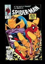 SPIDER-MAN 17 (9.8) THANOS INFINITY GAUNTLET COVER MARVEL (B035)