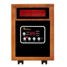 Dr Infrared Heater 1500-Watt Electric Portable Space Heater, Dual Heating System