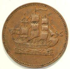 Prince Edward Island Colonial Token PE 10-30 Ships Colonies #3101