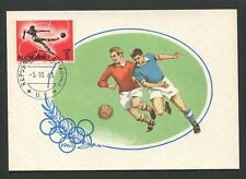 SAN MARINO MK 1964 OLYMPIA OLYMPICS FUßBALL FOOTBALL MAXIMUM CARD MC CM d8506