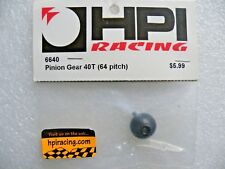 HPI 6640 Pinion Gear 64DP 40 Tooth / Yokomo Associated Sakura Tamiya RS4 Sprint