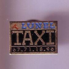 RARE PINS PIN'S ..  AUTO CAR / TAXI LUNEL 34  ¤4C