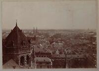 Strasburgo? Francia Germania snapshot Foto Vintage Citrato c1900
