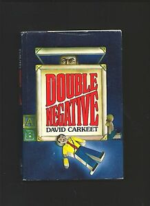 Double Negative by David Carkeet ( 1980 1st US ed. Hardback Signed ) Crime.