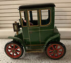 Vintage Japan Modern Toys Tin Litho Lever Action Toy Coupe Car