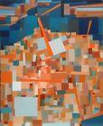 FOUGERAND.LAURENT _huile sur toile _Éolienne _ 101 cm x 81 cm du 18/12/2014
