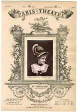 Lemercier et Cie, Paris-Théâtre, Malvina Ernestine Armand dite Marie Desclauzas