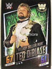 """Slam Attax then now Forever - #207 """"millón de dólares Man"""" Ted DiBiase"""
