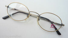 Stable Glasses Oval Men's round Antique Look Subtle Frame Occhiali SIZE S