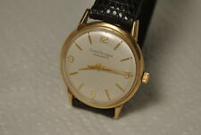 vintage wristwatch GIRARD PERREGAUX 17 j GYROMATIC SWISS  automatic 10 k gold f.