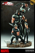 SIDESHOW EXCLUSIVE NEW!! MIB! X-FORCE~DIORAMA~STATUE WOLVERINE X-23  X-MEN Bust