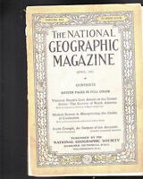 National Geographic April 1922 Mesopotamia South Georgia FREE US S/H