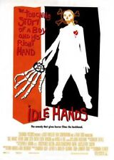 IDLE HANDS - 2-sided orig movie poster JESSICA ALBA