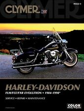 Harley Davidson Fat Bob FXLR Low Rider Wide Glide 1984-98 Clymer Manual M422-3