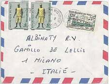 POSTAL HISTORY  MALI : AIRMAIL COVER to ITALY