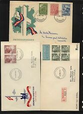 Denmark  3 covers, 2 cachets and 1 registered        a1113-07
