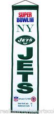 NEW YORK JETS SUPER BOWL III 3 HERITAGE BANNER JOE NAMATH CHAMPIONS
